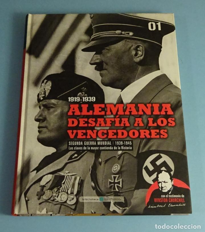 ALEMANIA DESAFIA A LOS VENCEDORES. BIBLIOTECA EL MUNDO (Libros de Segunda Mano - Historia - Segunda Guerra Mundial)