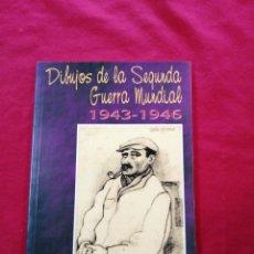 Libros de segunda mano: SEGUNDA GUERRA MUNDIAL. DIBUJOS DE LA SEGUNDA GUERRA MUNDIAL. JULIO GIRONA. Lote 187582008
