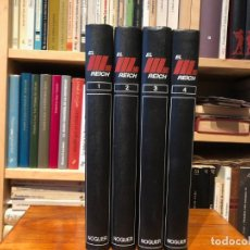 Libros de segunda mano: EL III REICH HISTORIA TOTAL DE UNA ÉPOCA DECISIVA (DAS REICH), EDITORIAL NOGUER . 4 VOLÚMES, NUEVOS. Lote 191078801