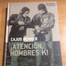 Libros de segunda mano: MEMORIAS DE GUERRA ALTAYA.ATENCION HOMBRES K. Lote 191227251