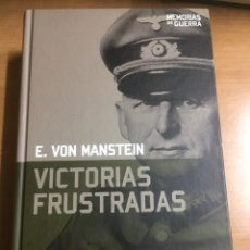 Livros em segunda mão: MEMORIAS DE GUERRA.VICTORIAS FRUSTRADAS. Lote 191229042