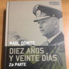 Livros em segunda mão: MEMORIAS DE GUERRA.DIEZ AÑOS Y VEINTE DÍAS. Lote 191229418