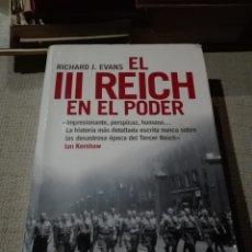 Libros de segunda mano: EL TERCER REICH EN EL PODER RICHARD J. EVANS. Lote 193421007