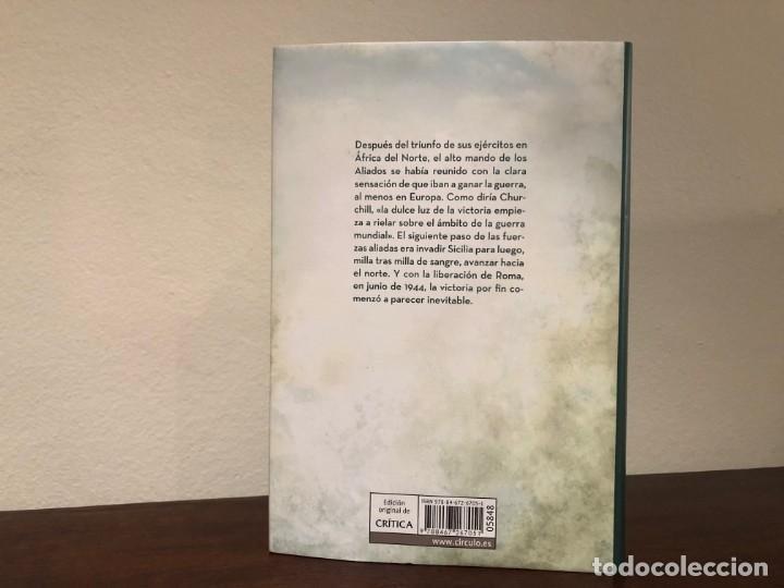 Libros de segunda mano: El dia de la batalla. La guerra en Sicilia y en Italia 1943-1944. Rick Atkinson. Libro sin estrenar - Foto 3 - 194495216