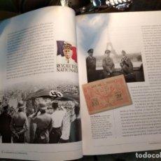 Libros de segunda mano: VOLUMEN INFORMATIVO DE SELLOS Y BILLETES (FACSIMIL) DE LA 2ª GUERRA MUNDIAL, . Lote 194637087
