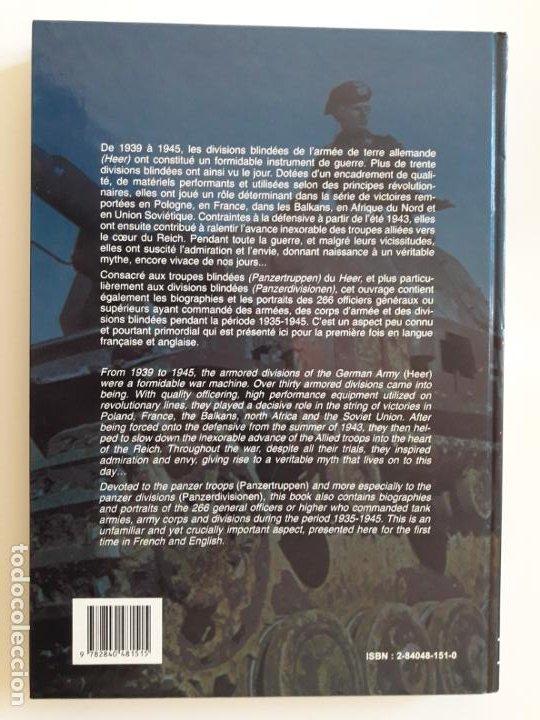 Libros de segunda mano: Panzertruppen - Les troupes blindées allemandes 1935-1945 - Foto 7 - 194663408