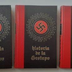 Libros de segunda mano: HISTORIA DE LA GESTAPO, PRESENTADA POR BERNARD MICHAL. 3 TOMOS, COMPLETA. Lote 194940167