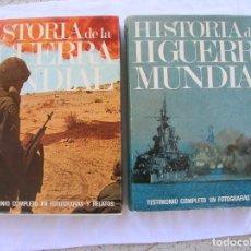 Libros de segunda mano: COLECCION DE LIBROS HISTORIA DE LA SEGUNDA GUERRA MUNDIAL EDITORIAL MARIN. Lote 194943597