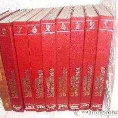 Libros de segunda mano: LA SEGUNDA GUERRA MUNDIAL DE EDICIONES SARPE, 8 TOMOS COMPLETOS. Lote 221090840