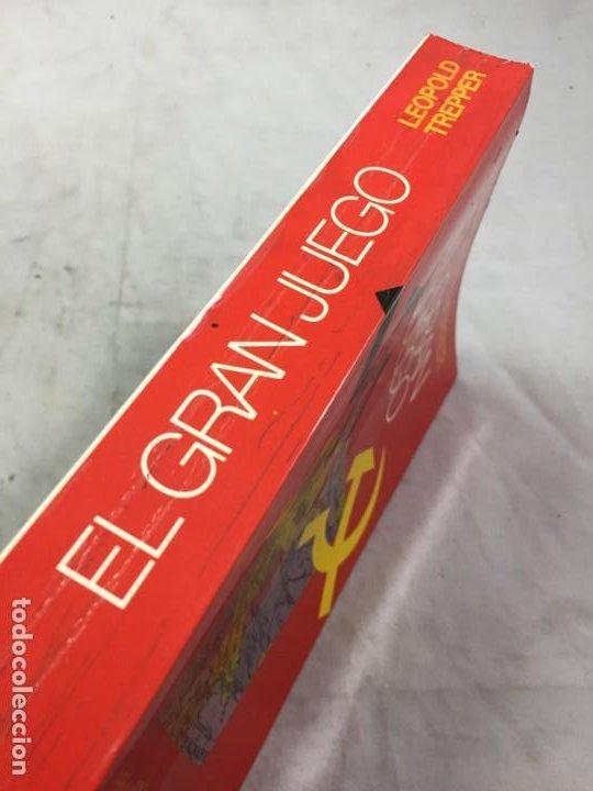 Libros de segunda mano: EL GRAN JUEGO, MEMORIAS DEL JEFE DEL ESPIONAJE SOVIÉTICO EN ALEMANIA. LEOPOLD TREPPER 1977 1ª ed. - Foto 2 - 195263393