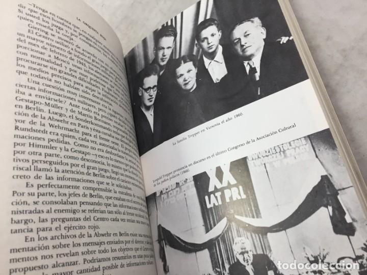 Libros de segunda mano: EL GRAN JUEGO, MEMORIAS DEL JEFE DEL ESPIONAJE SOVIÉTICO EN ALEMANIA. LEOPOLD TREPPER 1977 1ª ed. - Foto 4 - 195263393