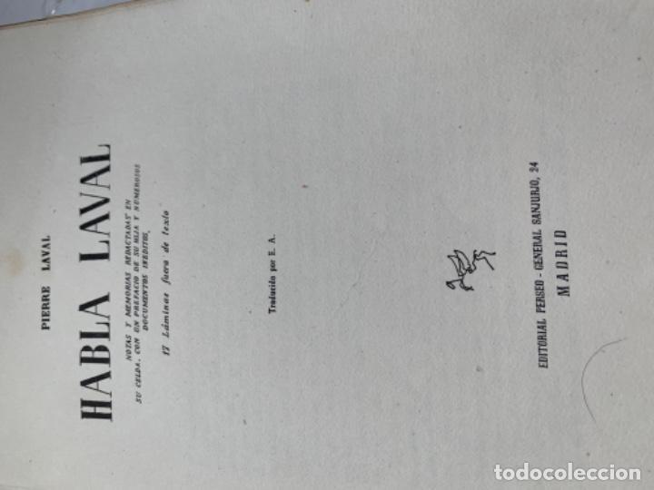 Libros de segunda mano: Habla Laval , editorial Perseo - Foto 3 - 218124155