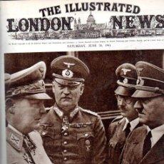 Libros de segunda mano: 18 NÚMEROS ILLUSTRATED LONDON NEWS 1941- 1942- 1943 ENCUADERNADOS. Lote 199447068