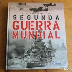 Libros de segunda mano: ATLAS ILUSTRADO DE LA SEGUNDA GUERRA MUNDIAL. Lote 199858260