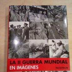 Libros de segunda mano: LA II GUERRA MUNDIAL EN IMÁGENES . Lote 200574596