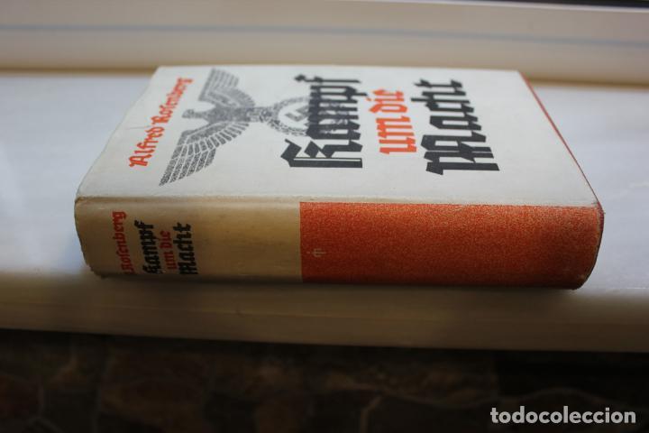 Libros de segunda mano: KAMPF UM DIE MACHT,VON 1921-1932 ALFRED ROSENBERG.ALEMANIA 1940. HITLER. NAZIS - Foto 2 - 203522808