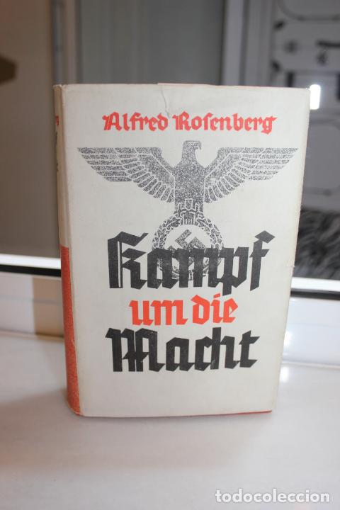 KAMPF UM DIE MACHT,VON 1921-1932 ALFRED ROSENBERG.ALEMANIA 1940. HITLER. NAZIS (Libros de Segunda Mano - Historia - Segunda Guerra Mundial)