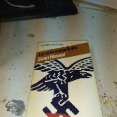 Libros de segunda mano: LA RUTA SANGRIENTA SVEN HASSEL LIBRO GUERRA MUNDIAL NAZIS. Lote 203561756
