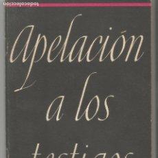 Libros de segunda mano: APELACIÓN A LOS TESTIGOS TESTIMONIOS POLONIA DINAMARCA NORUEGA HOLANDA ANTINAZI INGLATERRA. Lote 203859493
