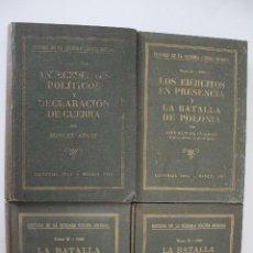Libros de segunda mano: HISTORIA DE LA SEGUNDA GUERRA MUNDIAL 4 TOMOS EDITORIAL IDEA. Lote 204156155