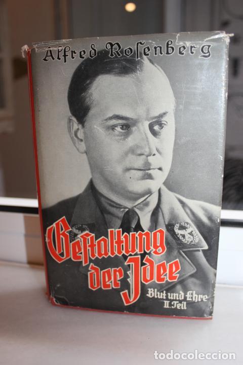 BEFTALTUNG DER IDEE,ALFRED ROSENBERG. MUNCHEN 1939. HITLER. NAZI (Libros de Segunda Mano - Historia - Segunda Guerra Mundial)