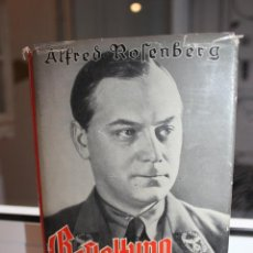 Libros de segunda mano: BEFTALTUNG DER IDEE,ALFRED ROSENBERG. MUNCHEN 1939. HITLER. NAZI. Lote 204360530