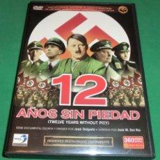 Libros de segunda mano: (6 DVD) 12 AÑOS SIN PIEDAD (TWELVE YEARS WITHOUT PITY) (DE COLECCIONISTA...IMPECABLE). Lote 204630725