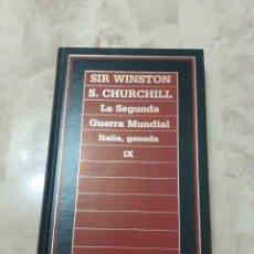 Libros de segunda mano: LIBRO LA SEGUNDA GUERRA MUNDIAL ITALIA, GANADA DE SIR WINSTON CHURCHILL. Lote 204743275