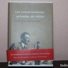 Libros de segunda mano: LAS CONVERSACIONES PRIVADAS DE HITLER. Lote 204847291