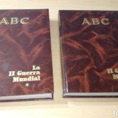 Libros de segunda mano: LA SEGUNDA GUERRA MUNDIAL ABC - TOMO I Y 2 / GRAVOL8. Lote 205066755