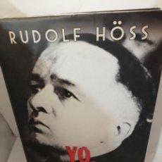Libros de segunda mano: YO, COMANDANTE DE AUSCHWITZ DE RUDOLF HOSS (HOESS). Lote 205832825