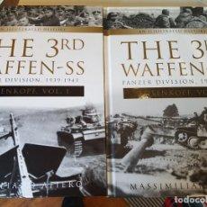 "Libros de segunda mano: THE 3RD WAFFEN-SS PANZER DIVISION ""TOTENKOPF,"" 1939-1943 Y 1943-1945 DE MASSIMILIANO AFIERO. Lote 207790715"