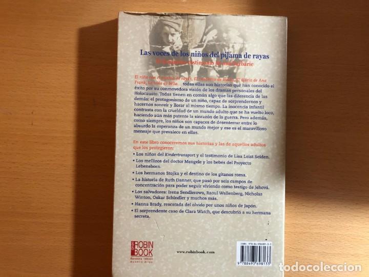 Libros de segunda mano: Los otros niños del pijama de rayas. Los ángeles del Holocausto. Licia Lopez de Casenave. Nazismo - Foto 2 - 208920542