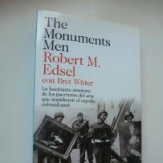 Libros de segunda mano: THE MONUMENTS MEN. ROBERT M. EDSEL. ED. DESTINO 2012.. Lote 209808855