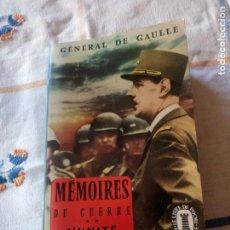 Libros de segunda mano: MEMOIRES DE GUERRE. L'UNITE 1942 - 1944 - CHARLES DE GAULLE,EN FRANCES. Lote 209874606