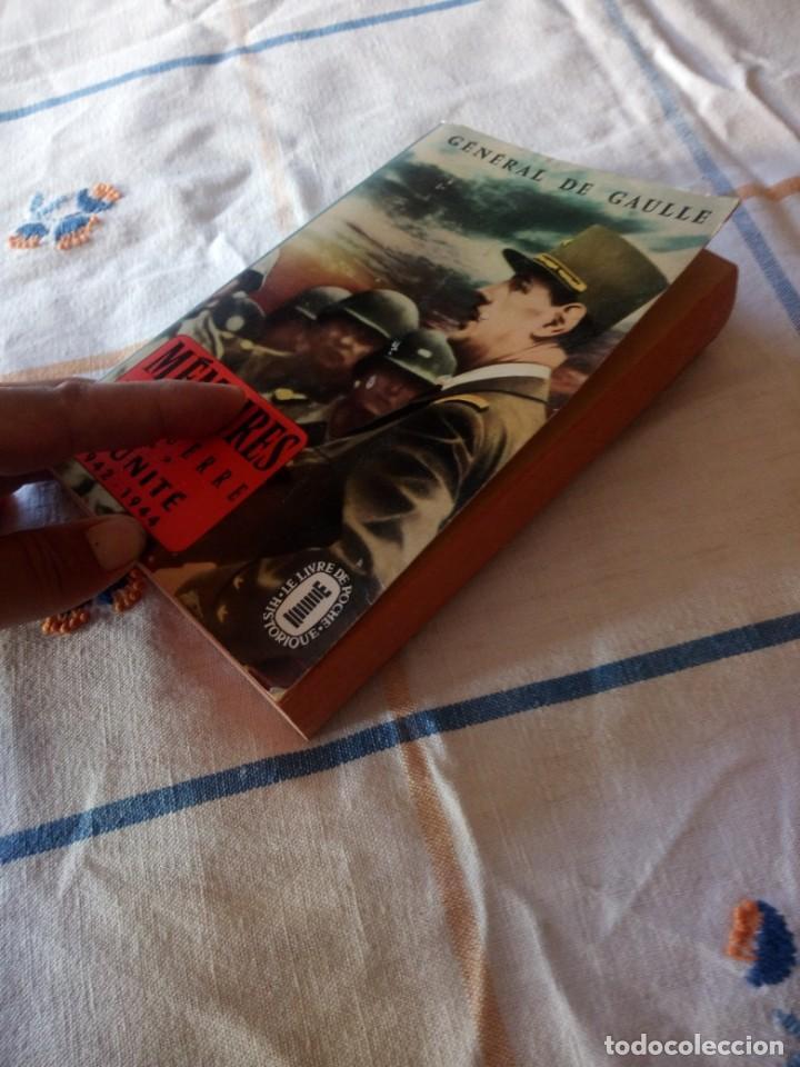 Libros de segunda mano: Memoires de Guerre. Lunite 1942 - 1944 - Charles de Gaulle,en frances - Foto 6 - 209874606