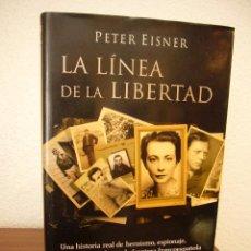 Libros de segunda mano: PETER EISNER: LA LÍNEA DE LA LIBERTAD (TAURUS, 2004) MUY BUEN ESTADO. Lote 211495247