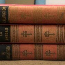 Libros de segunda mano: GENERAL DE GAULLE MEMORIAS DE GUERRA (3 TOMOS). EL LLAMAMIENTO, LA UNIDAD Y LA SALVACIÓN. ED. LUIS D. Lote 168621742