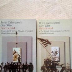 Libros de segunda mano: GUERRA TOTAL- CALVOCORESSI.. Lote 211756721