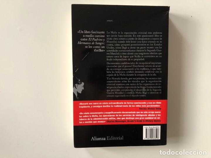 Libros de segunda mano: ALIADOS DE LA MAFIA. TIM NEWARK. ALIANZA EDITORIAL.SEGUNDA GUERRA MUNDIAL - Foto 2 - 211827801