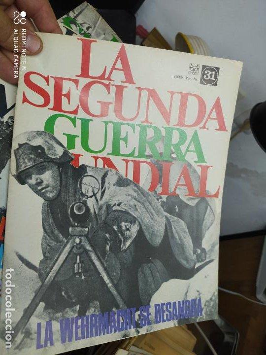 LA SEGUNDA GUERRA MUNDIAL Nº 31. REV-126 (Libros de Segunda Mano - Historia - Segunda Guerra Mundial)