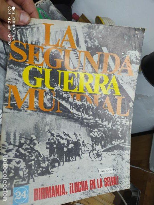 LA SEGUNDA GUERRA MUNDIAL Nº 24. REV-129 (Libros de Segunda Mano - Historia - Segunda Guerra Mundial)