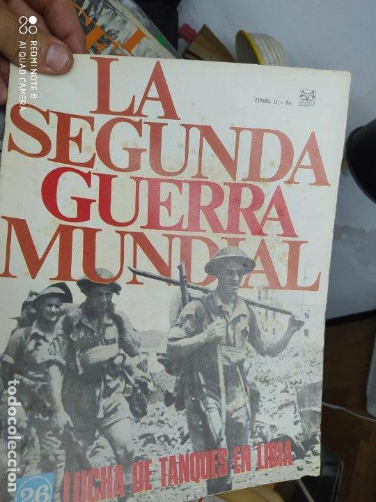 LA SEGUNDA GUERRA MUNDIAL Nº 26. REV-130 (Libros de Segunda Mano - Historia - Segunda Guerra Mundial)