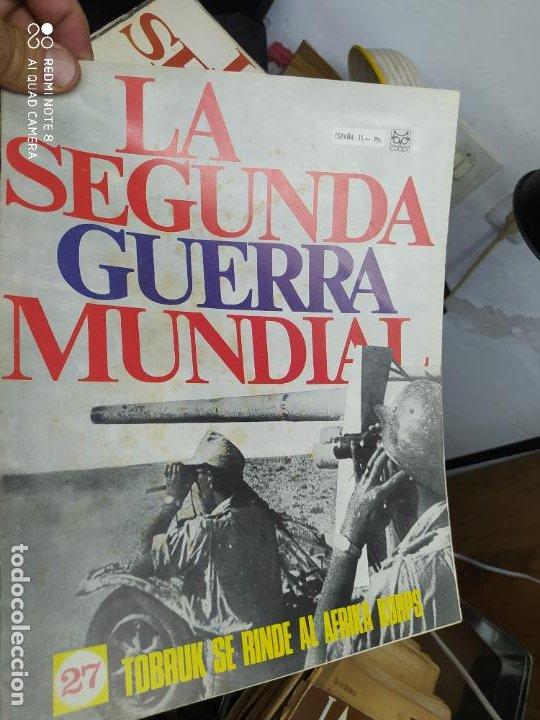 LA SEGUNDA GUERRA MUNDIAL Nº 27. REV-131 (Libros de Segunda Mano - Historia - Segunda Guerra Mundial)