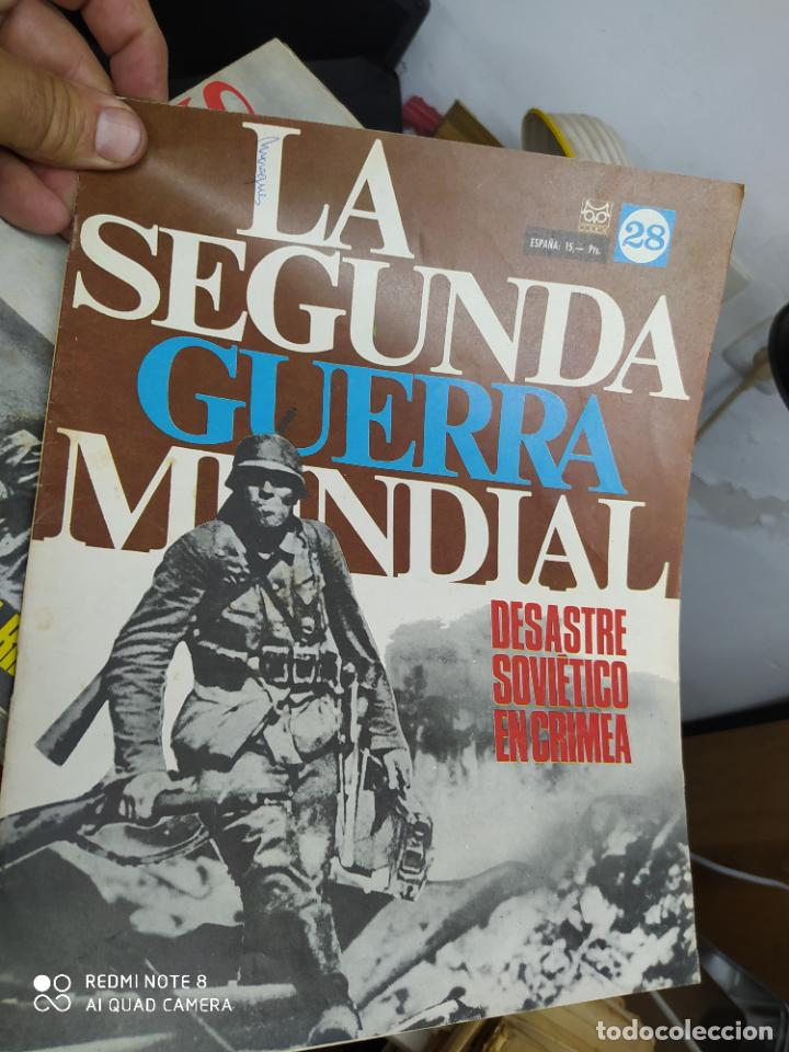 LA SEGUNDA GUERRA MUNDIAL Nº 28. REV-132 (Libros de Segunda Mano - Historia - Segunda Guerra Mundial)