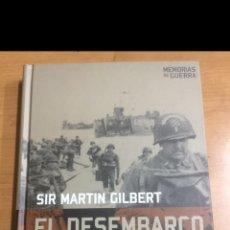 Libros de segunda mano: MEMORIAS DE GUERRA. EL DESEMBARCO DE NORMANDÍA DÍA D. Lote 213858951
