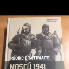 Libros de segunda mano: MEMORIAS DE GUERRA.MOSCU 1941. Lote 213882690