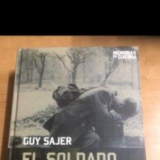 Libros de segunda mano: MEMORIAS DE GUERRA. EL SOLDADO OLVIDADO. Lote 213883553
