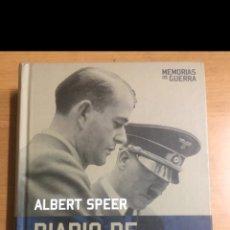 Libros de segunda mano: MEMORIAS DE GUERRA. DIARIO DE SPANDAU. Lote 213883817