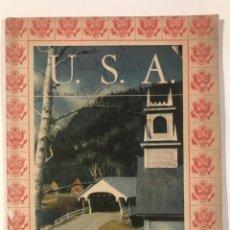 Libros de segunda mano: USA VOL2 NUM 5 1945 OFICINA DE INFORMACION DE GUERRA DE LOS EEUU.. Lote 214035502